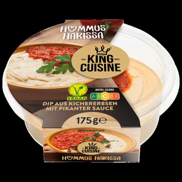 king cuisine hummus harissa 175g bei rewe online bestellen. Black Bedroom Furniture Sets. Home Design Ideas