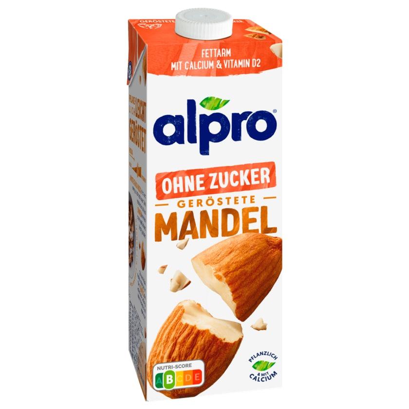 Alpro Mandel-Drink Ohne Zucker Geröstet vegan 1l