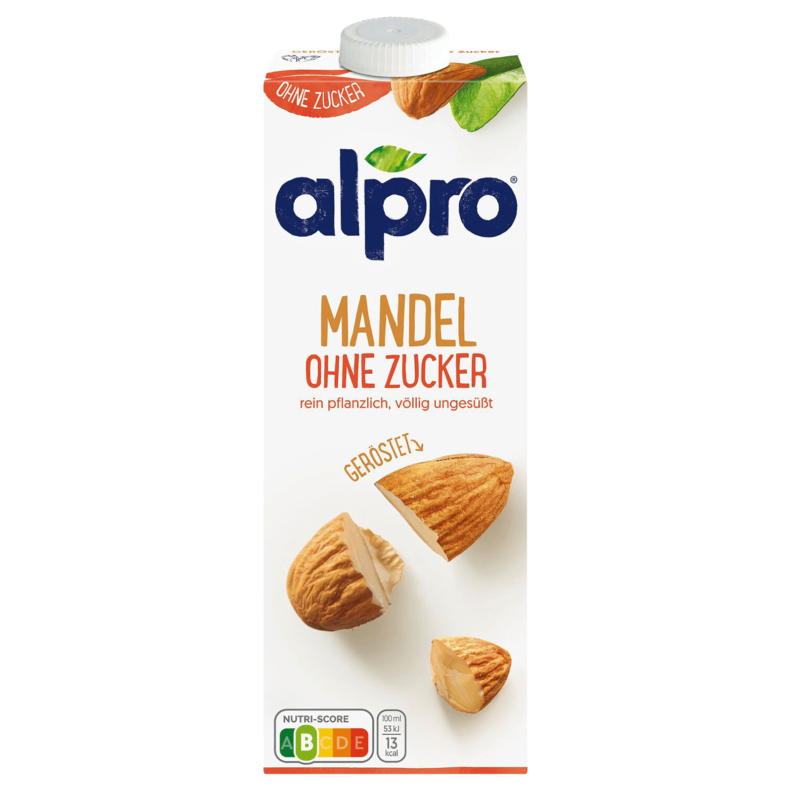 Alpro Mandel-Drink Ungesüßt 1l