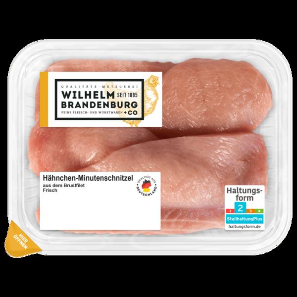 Wilhelm Brandenburg Hähnchen-Minutenschnitzel frisch 400g