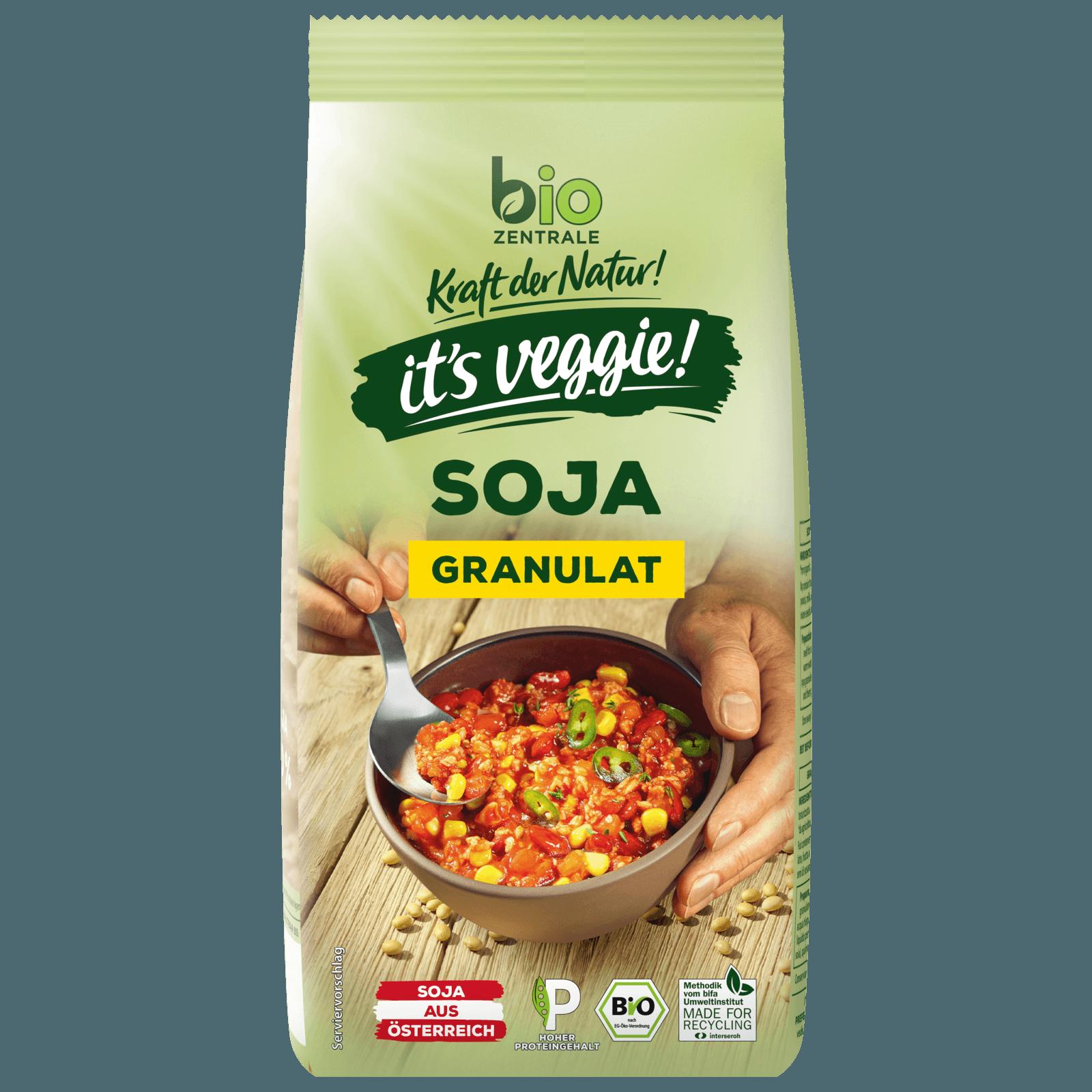 Bio Zentrale Soja-Granulat 250g