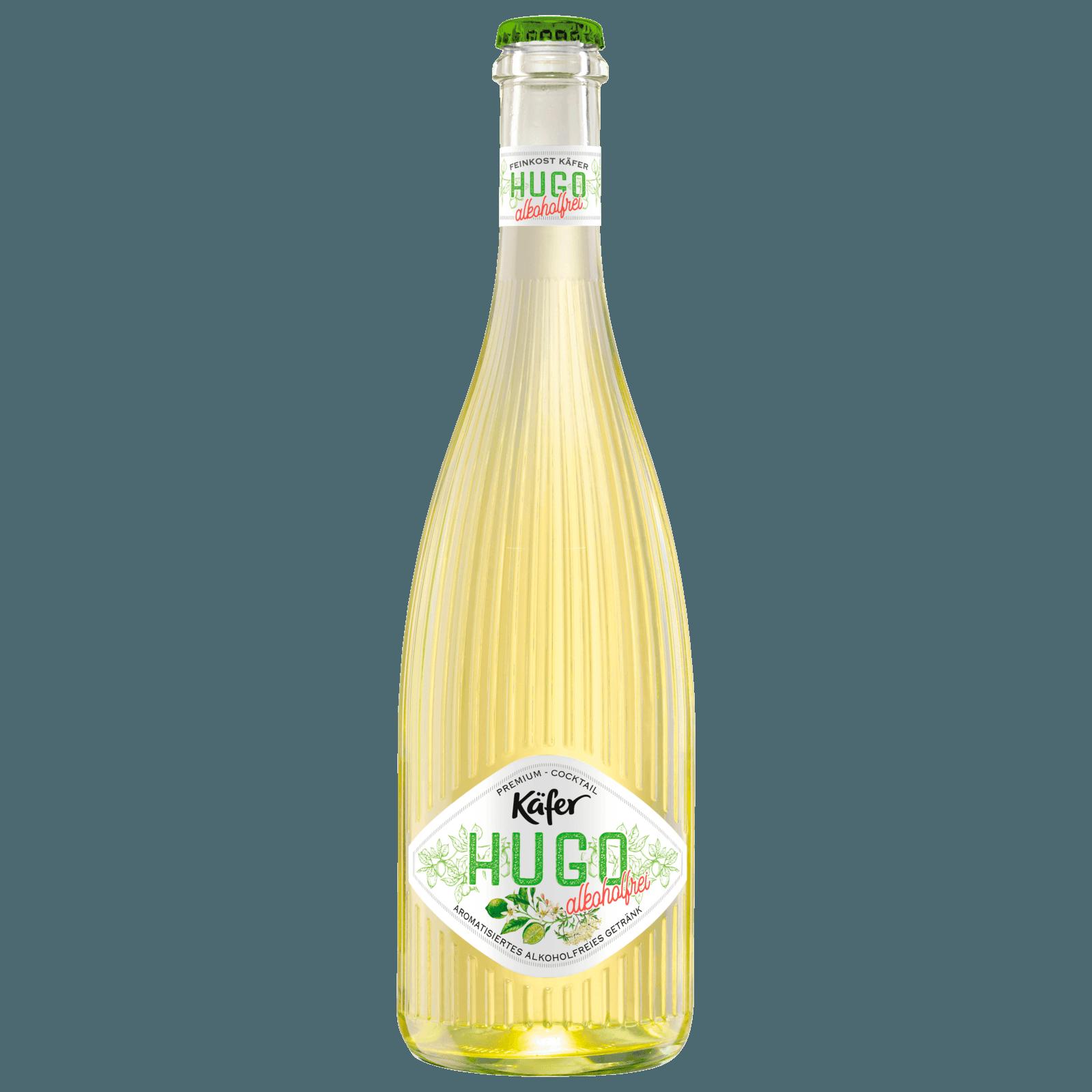 Käfer Hugo Alkoholfrei Holunderblüte + Limette 0,75l