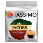 Tassimo Kaffeekapseln Jacobs Caffè Crema classico 112g, 16 Kapseln