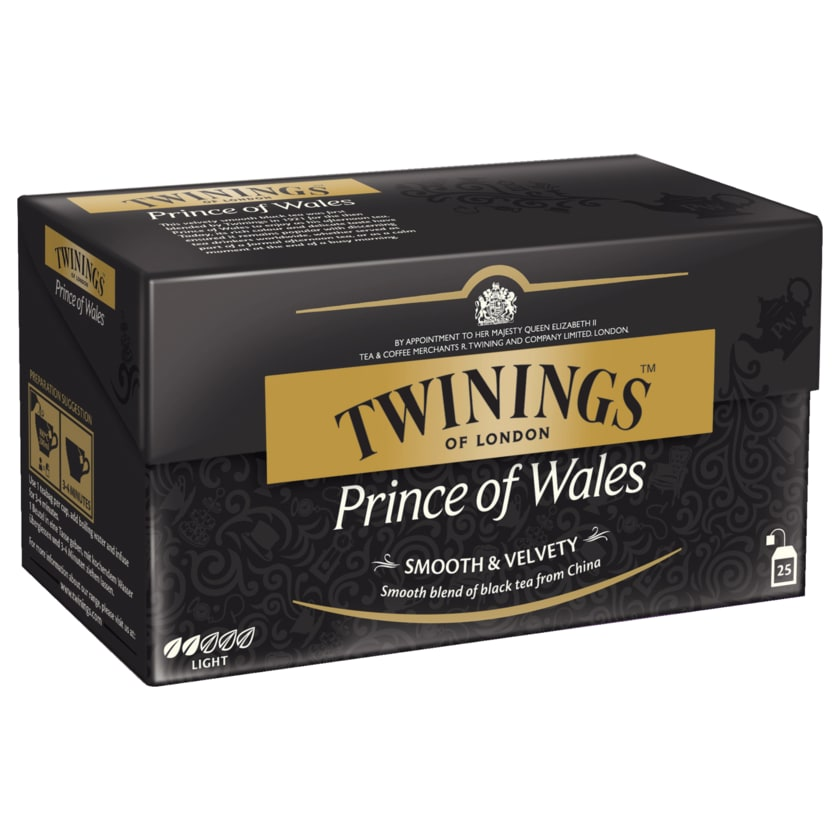 Twinings Prince of Wales 50g, 25 Beutel