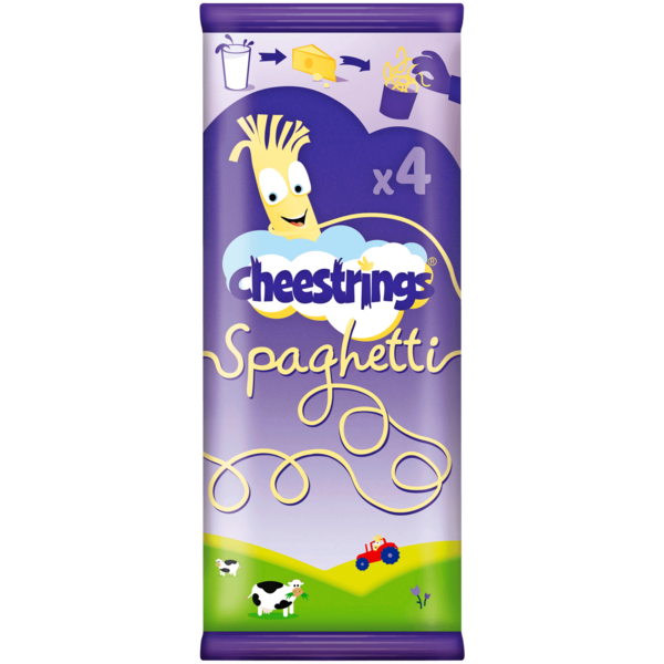 Cheestrings Spaghetti 4x20g