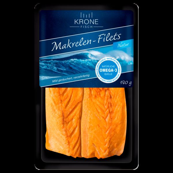 Krone Makrelenfilets geräuchert 160g