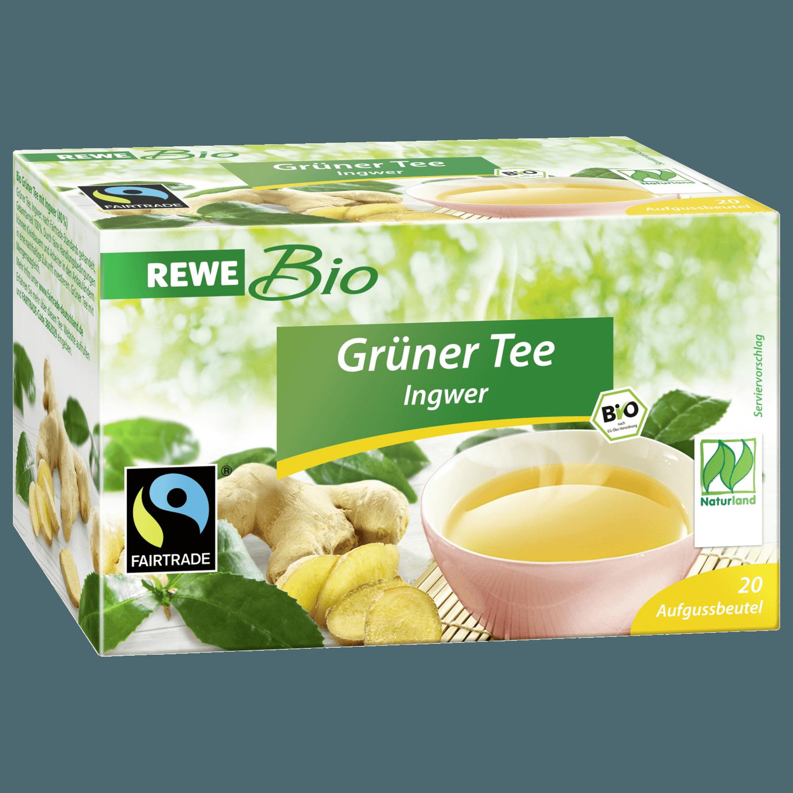 Grüner Kaffee Mit Ingwer rewe bio grüner mit ingwer 20x1 5g bei rewe bestellen