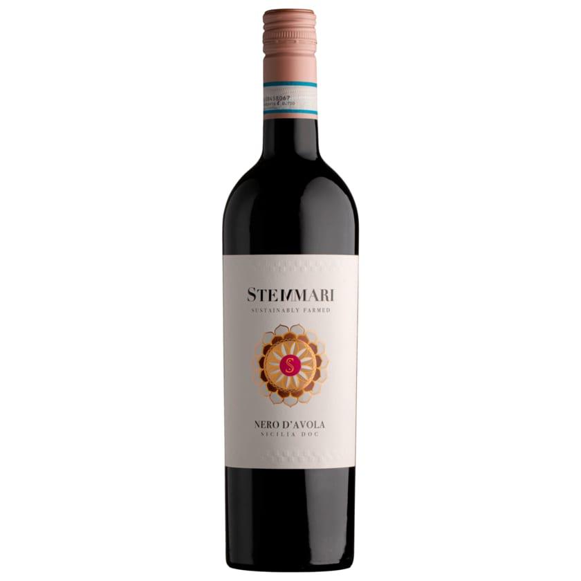 Stemmari Rotwein Nero d' Avola DOC trocken 0,75l