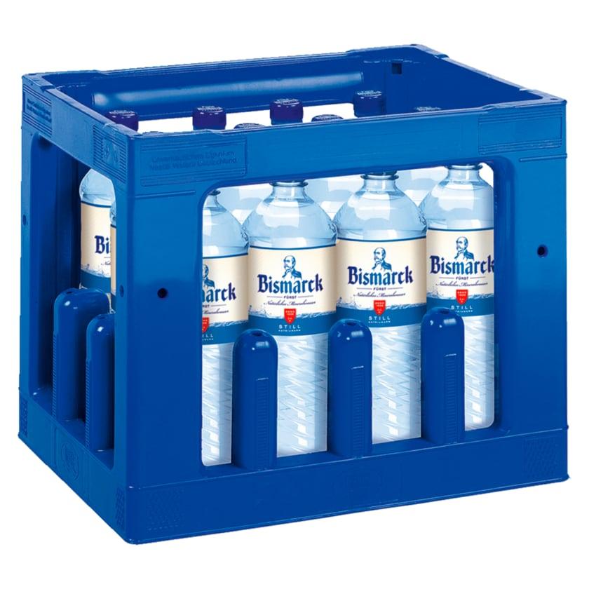 Fürst Bismarck Mineralwasser Still 12x1l