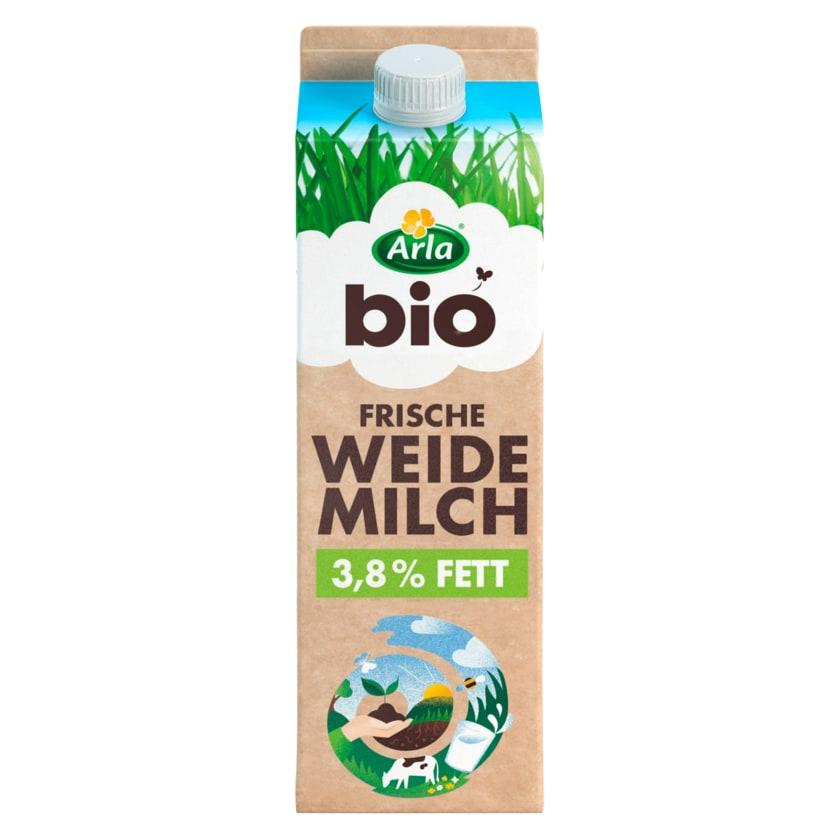 Arla Frische Bio Weidemilch 3,8% 1l