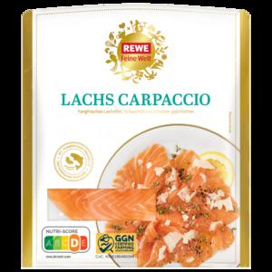 REWE Feine Welt Lachs-Carpaccio mit Parmesan 100g