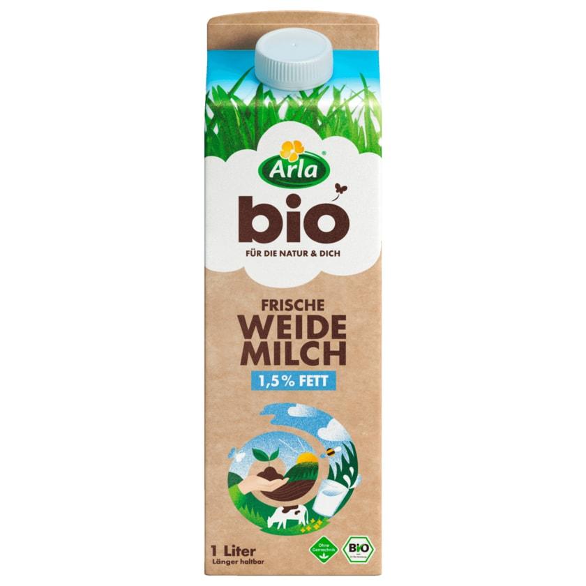 Arla Frische Bio Weidemilch 1,5% 1l
