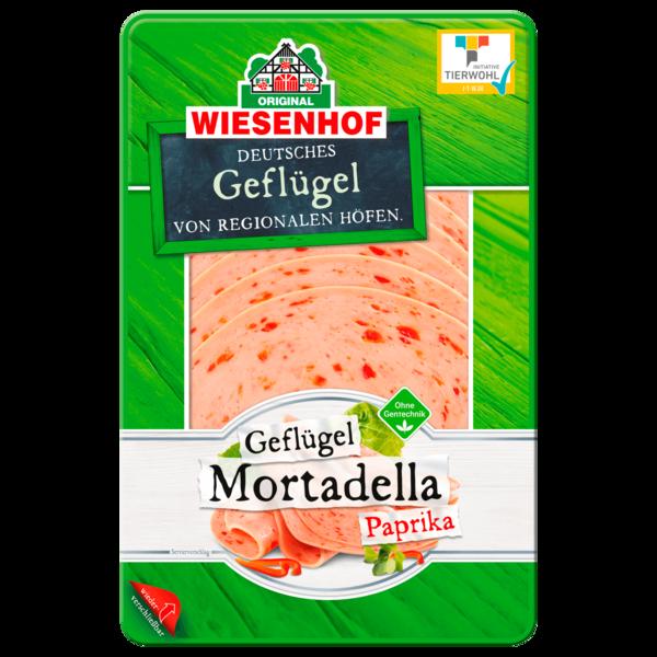 Wiesenhof Geflügel Paprika-Mortadella 100g