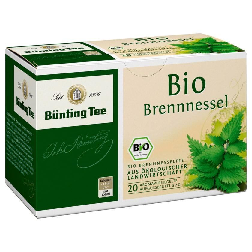 Bünting Tee Bio-Brennnessel 40g, 20 Beutel