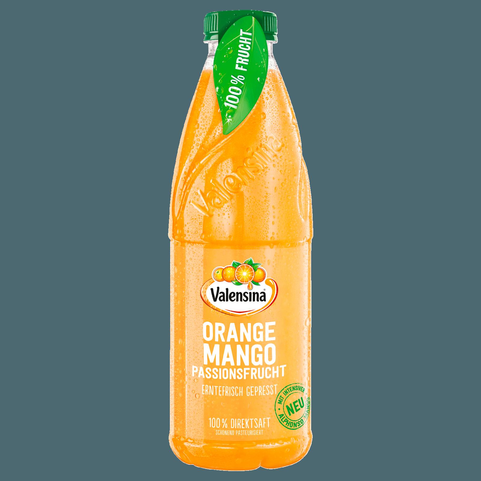Valensina Erntefrisch Orange-Mango-Passionsfrucht 1l