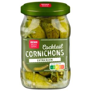 REWE Beste Wahl Cocktail-Cornichons 212ml