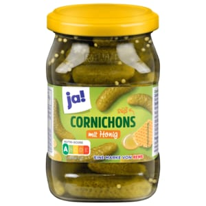 REWE Beste Wahl Cornichons mit Honig 190g