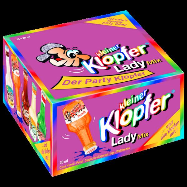 Kleiner Kopfer Lady Mix 16-17% 25x20ml
