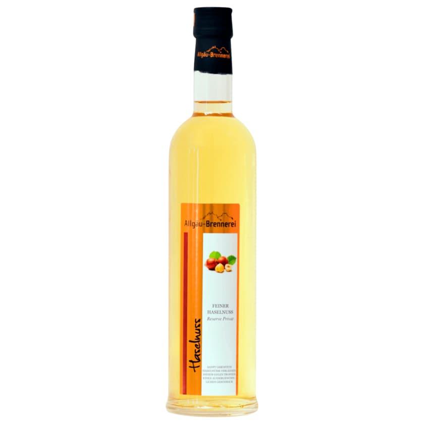 Allgäu-Brennerei feiner Haselnuss 0,5l