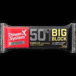 Power System Protein 50% Big Block Vanille 100g