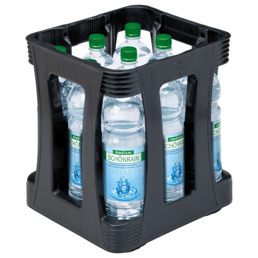 Schönrain Mineralwasser Medium 9x1l