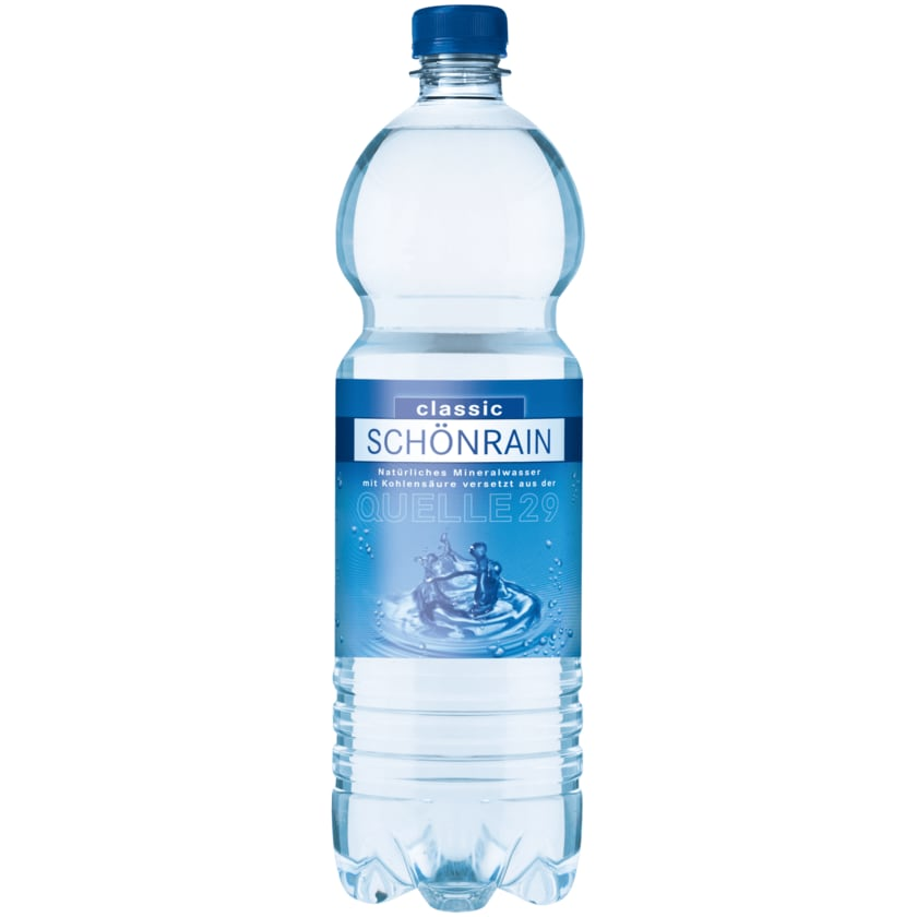 Schönrainquelle Classic Mineralwasser mit Kohlensäure 1l