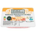 Wilhelm Brandenburg Fleischwurst mit Käse in Streifen 400g