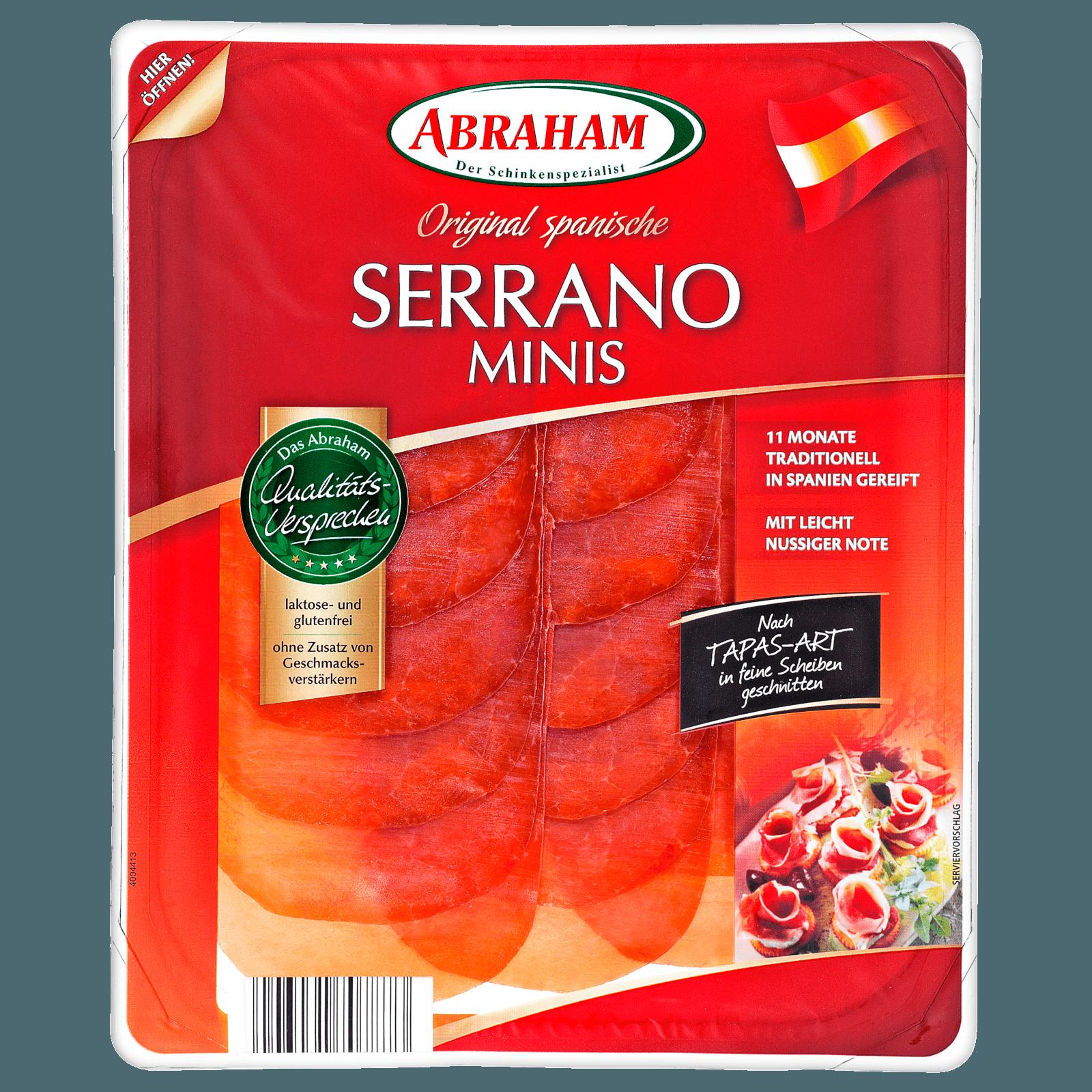 Abraham Serrano Minis luftgetrocknet 80g