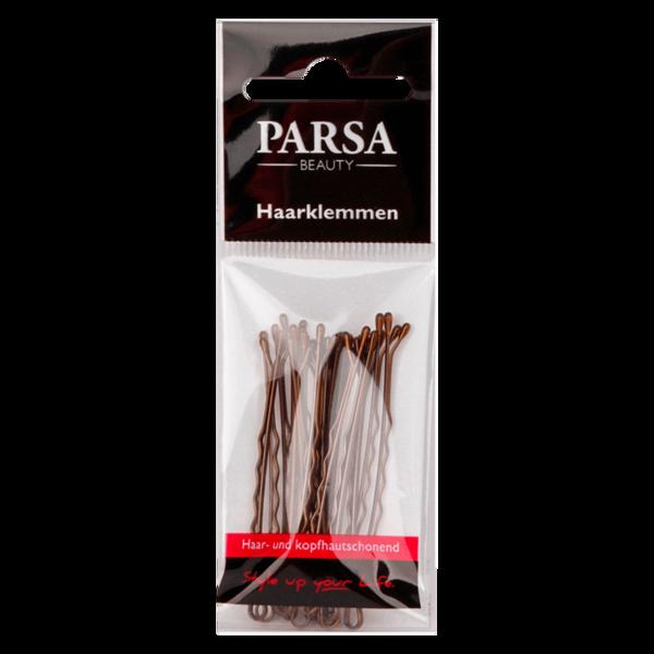 Parsa Beauty Haarklemmen gewellt & braun