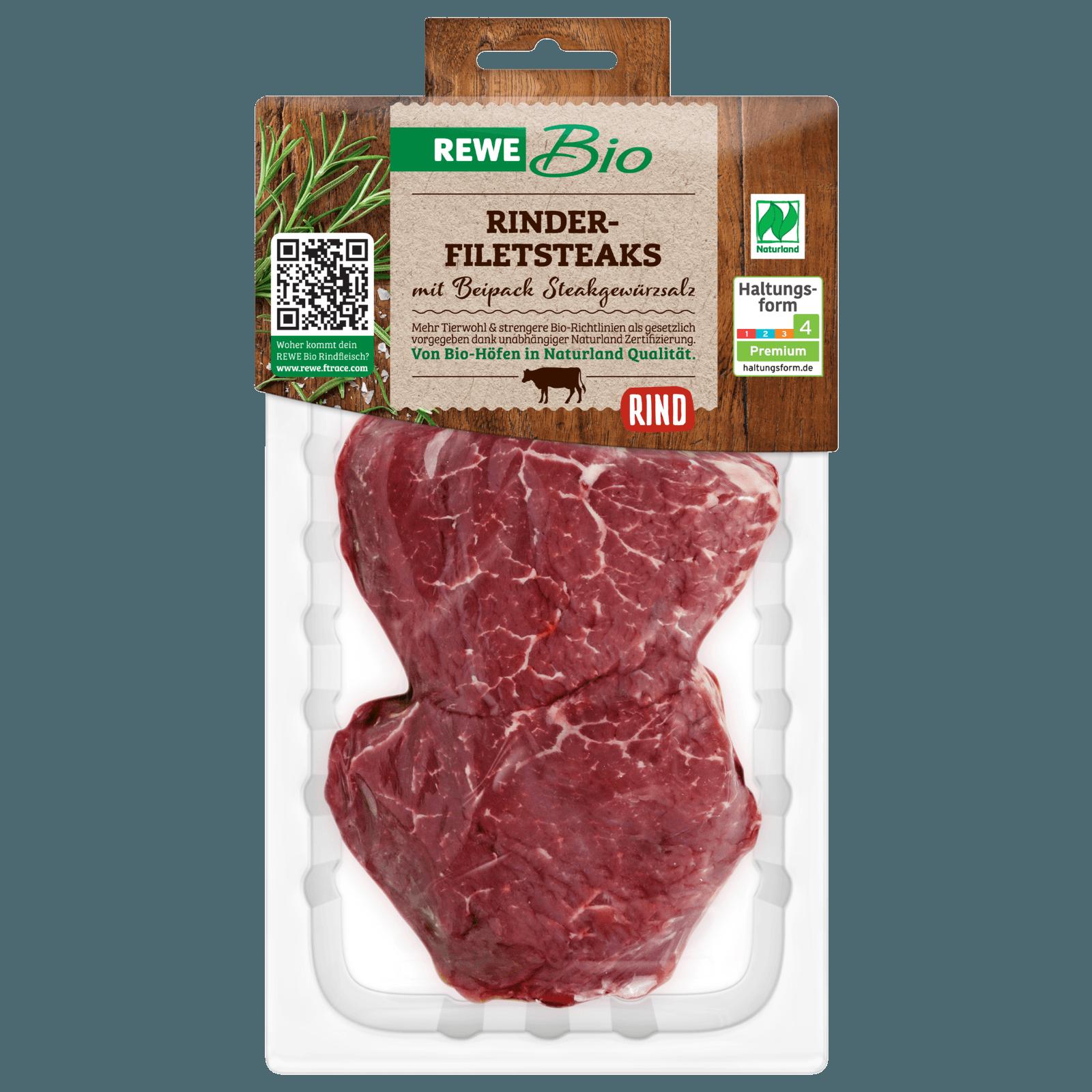 REWE Bio Rinderfilet 260g