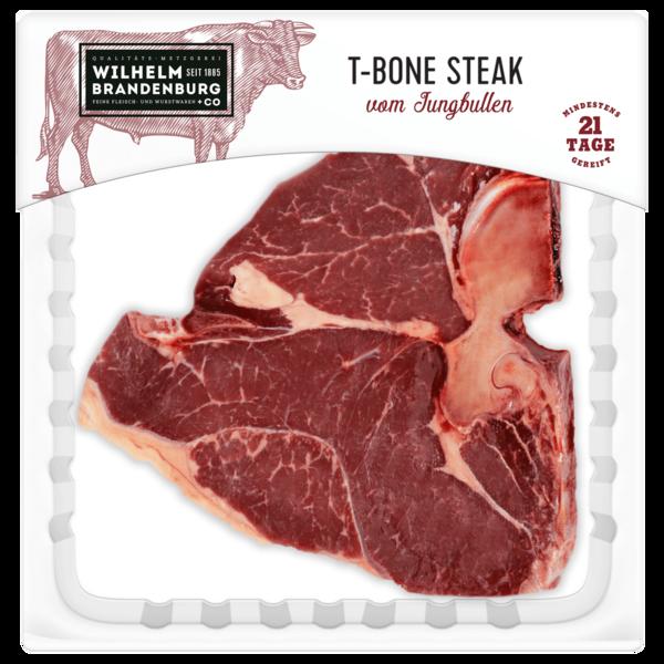 Wilhelm Brandenburg T-Bone-Steak vom Jungbullen ca. 350g