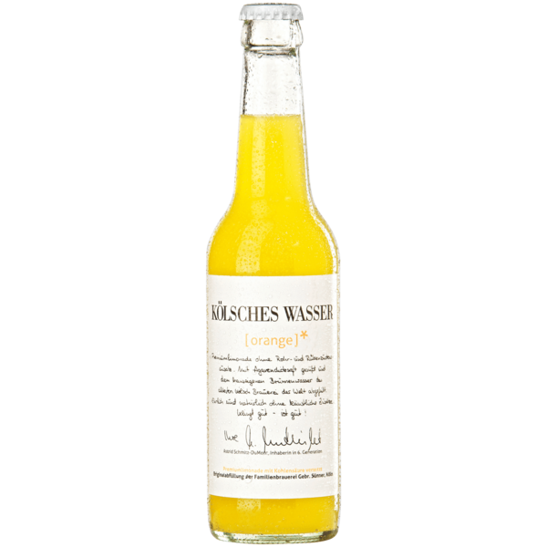 Sünner Kölsches Wasser orange 0,33l