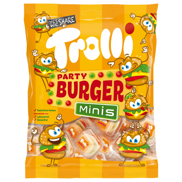 Trolli Mini Burger