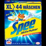 Spee Vollwaschmittel Aktiv Pulver 2,42kg, 44WL