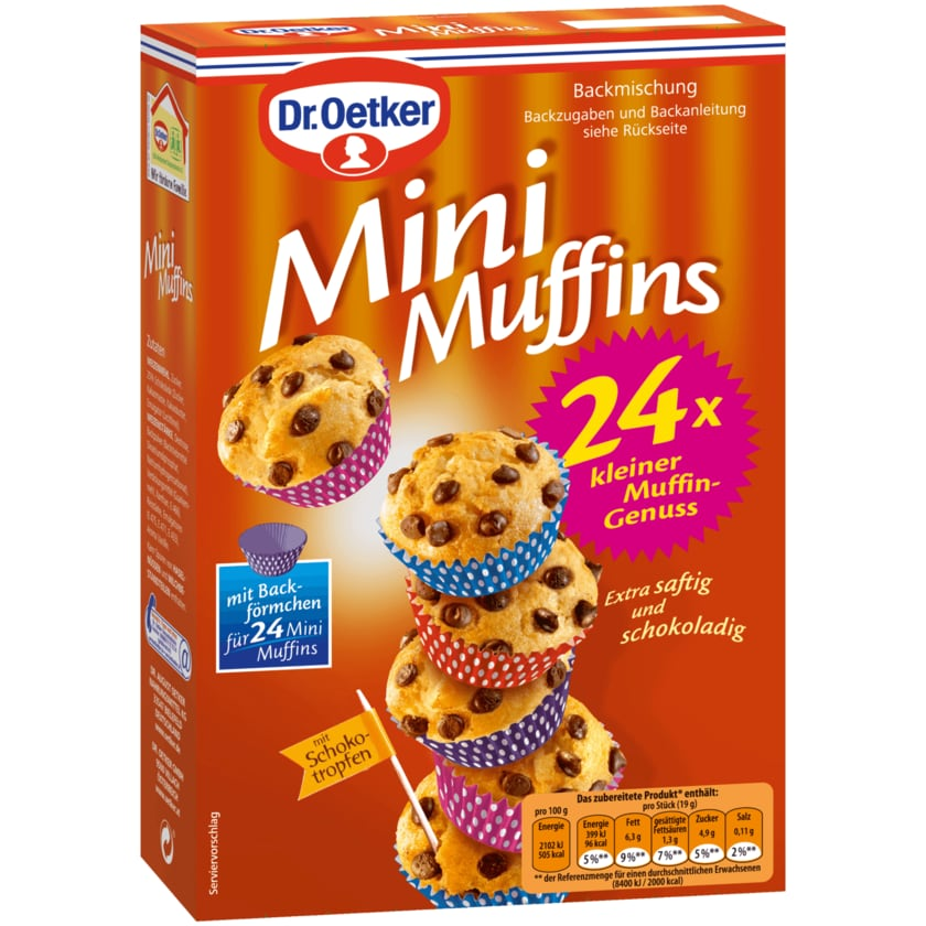 Dr. Oetker Mini-Muffins 270g