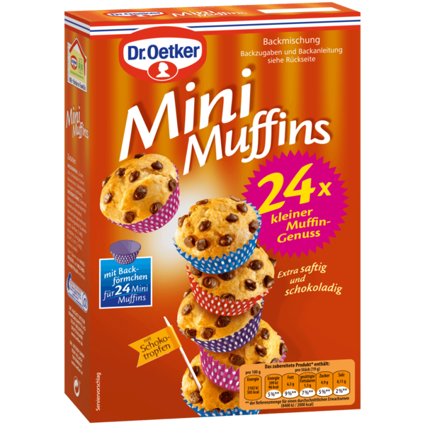 dr oetker mini muffins 270g bei rewe online bestellen. Black Bedroom Furniture Sets. Home Design Ideas