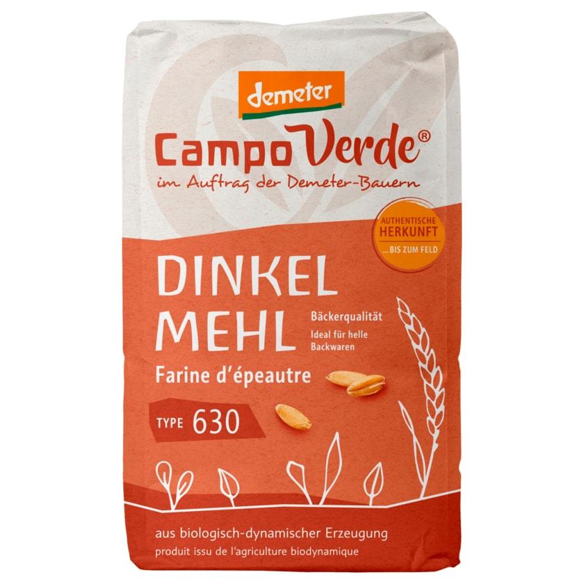 Campo Verde Bio Demeter Dinkelmehl Typ 630 1kg