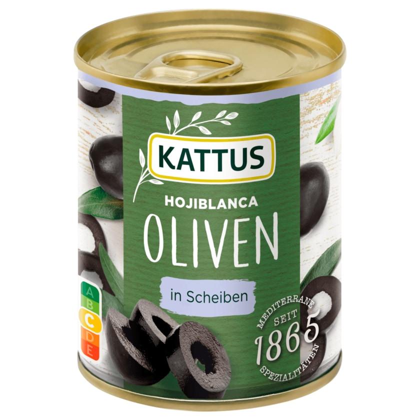 Kattus Hojiblance Oliven geschnitten 85g