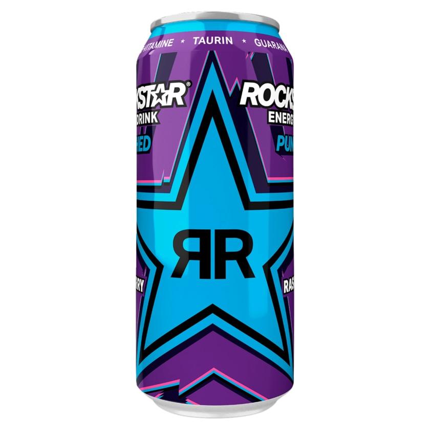Rockstar Supersours Blue Raspberry Energy Drink 0,5l