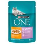 Purina One Sensitive mit Huhn & Karotte 85g