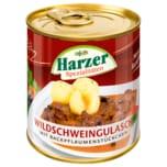 Harzer Wildschweingulasch mit Backpflaumenstückchen 300g