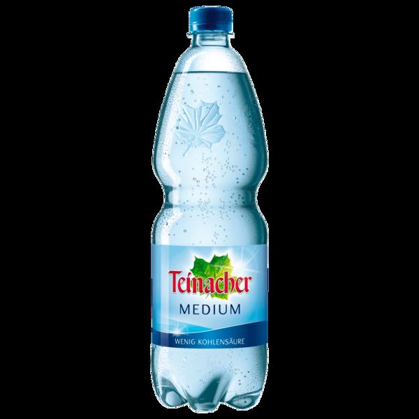 Teinacher Mineralwasser Medium 1l