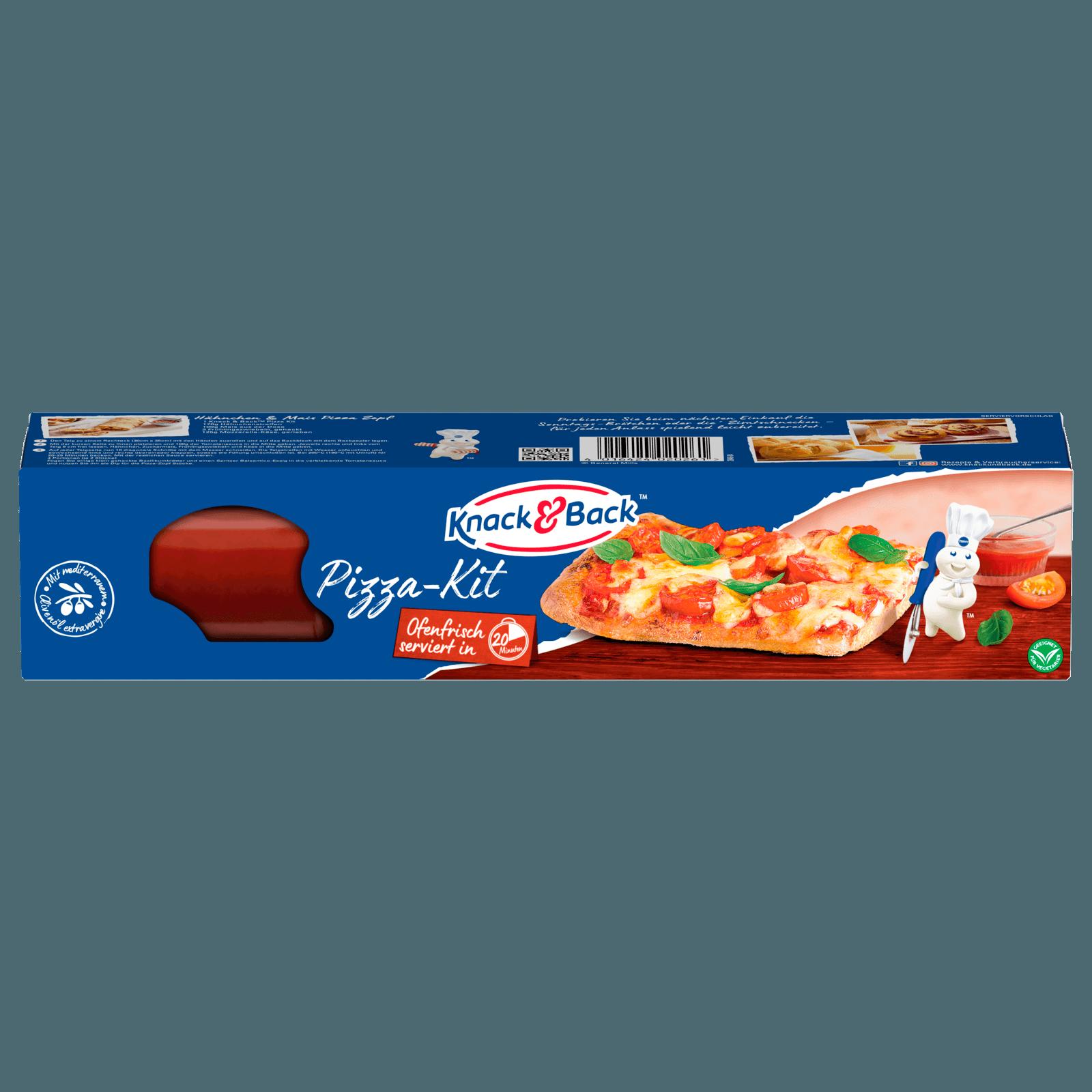 Knack & Back Pizza-Kit 600g