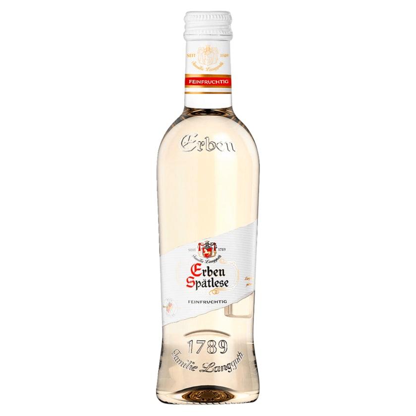 Erben Spätlese Weißwein Feinfruchtig 0,25l
