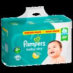 Pampers Baby Dry Windeln Gr.4+ Maxi 9-20kg 94 Stück