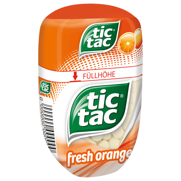Tic Tac Fresh Orange 98g