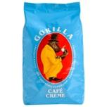 Gorilla Café Creme ganze Bohne 1kg