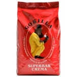 Gorilla Espresso Crema Super Bar ganze Bohne 1kg