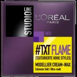 L'Oréal Paris Studio Line #TXT Flame Creme Wax 75ml