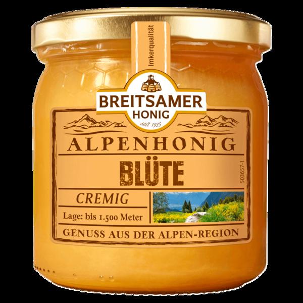 Breitsamer Honig Alpenhonig Blüte 500g